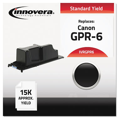 Innovera® Compatible 6647A003AA (GPR-6) Toner, Black