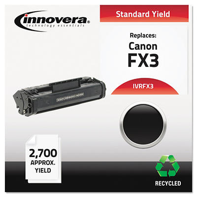 Innovera FX3 Remanufactured Toner Cartridge, Black (2,700 Yield)