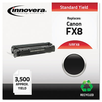 Innovera FX8 Remanufactured Toner Cartridge, Black (3,500 Yield)