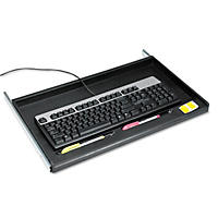 Innovera Standard Underdesk Keyboard Drawer - Black