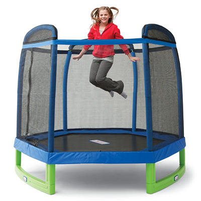 My First Trampoline with Enclosure - 88""