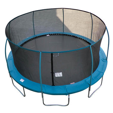 17' Trampoline/Enclosure combo