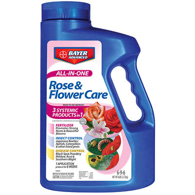 Bayer Advanced All-in-One Rose & Flower Care - 6 lbs.