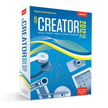 Roxio Creator 2012 Plus - PC