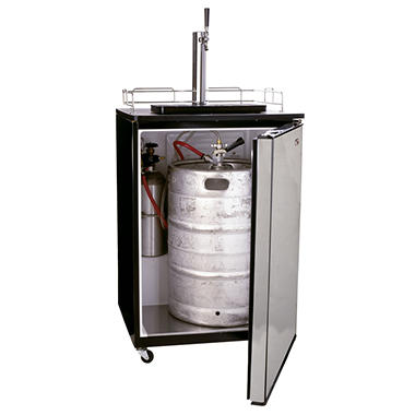 Haier® Beer Dispensing Tap System Kegerator - Stainless