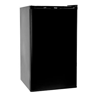 Haier 3.2 CU FT Refrigerator/Freezer - Black