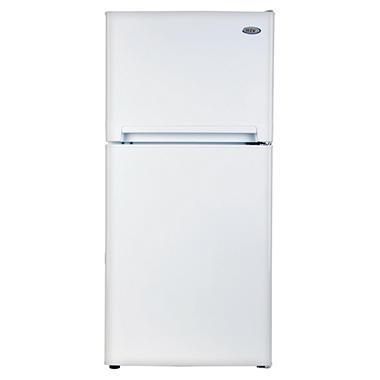 Haier 8.1 CU FT Top Mount Refrigerator/Freezer