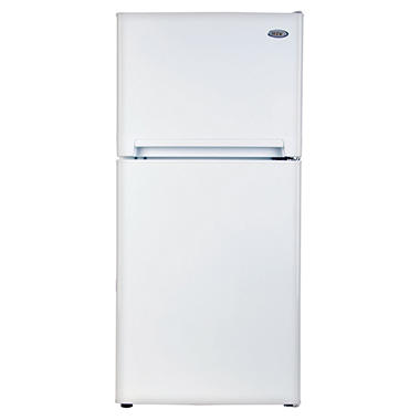 Haier 8.1 CU FT Top Mount Refrigerator/Freezer