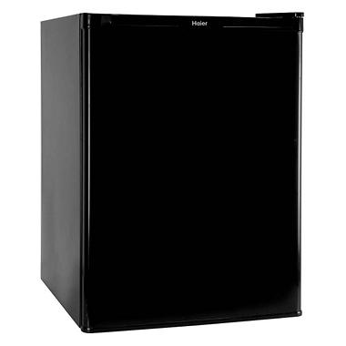 Haier 2.5 cu. ft. Refrigerator/Freezer - Black - HNSE025BB