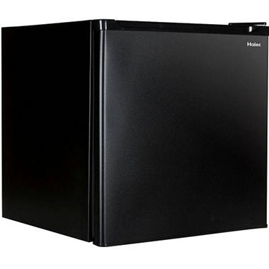 Haier 1.7 cu. ft. Refrigerator/Freezer - Black - HCR17B