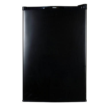 Haier 4.5 cu. ft. Refrigerator/Freezer - Black - HNSE045BB