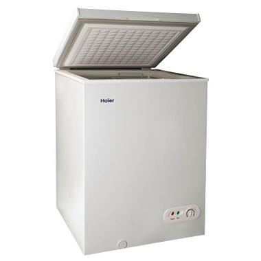 Haier 3.5 CF Chest Freezer - White