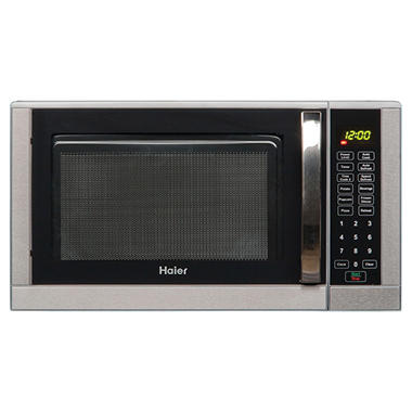 Haier 0.9 CU FT / 900 Watt Touch Microwave - Stainless Steel