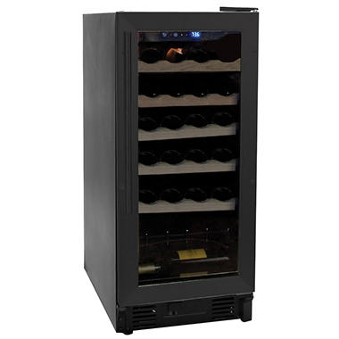 Haier 26-Bottle Wine Cellar, Black