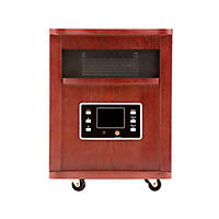 Haier Infrared Zone Heater (Cherry Wood Finish)