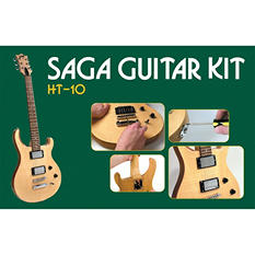 Saga HT-10 Electric Guitar Kit - Double Cutaway