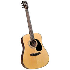 Bristol BD-16 Acoustic Dreadnaught Guitar