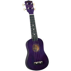 Diamond Head DU-108 Rainbow Soprano Ukulele - Purple