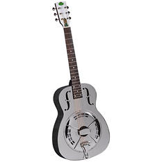 Regal RC-4 Metal Body Duolian Guitar - Nickel-Plated Brass