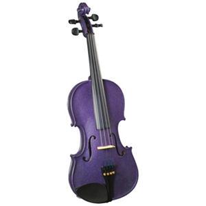 Cremona Premier Novice Violin Outfit, 4/4-size (Sparkling Purple)