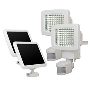 80 LED Solar Motion Light Twin Pack