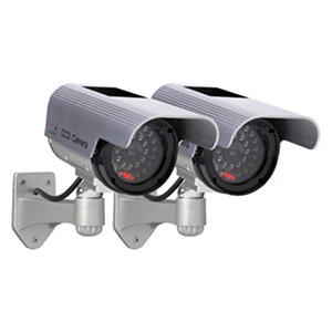 Solar Decoy Camera Twin Pack