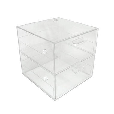 2-Drawer Straight Front Counter Display