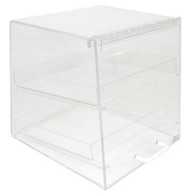 2-Tray Slant Front Counter Display