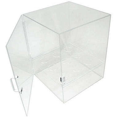 Acrylic Cone Dispensing and Storage Cabinet