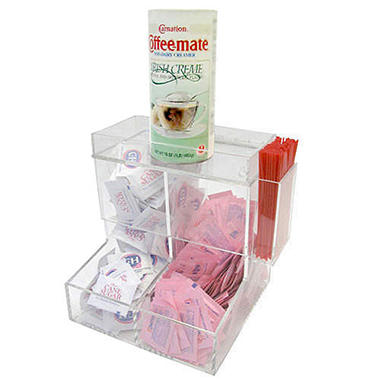 2-Bin Coffee / Condiment Organizer