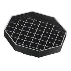 "Octagon Pitcher Drip Tray - 6"" x 6"""