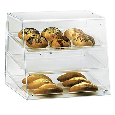 3 Tray Rear Serve Bakery Case