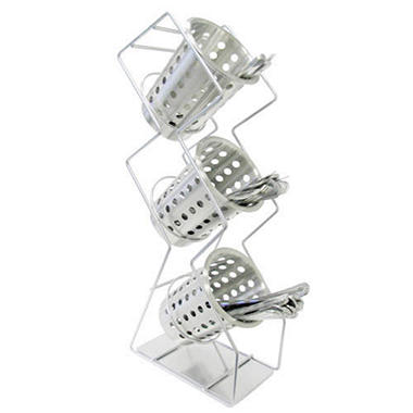 3 Tier Silverware/Condiment Dispenser