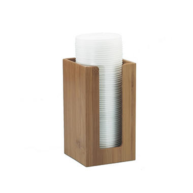 Bamboo Lid/Napkin Holder