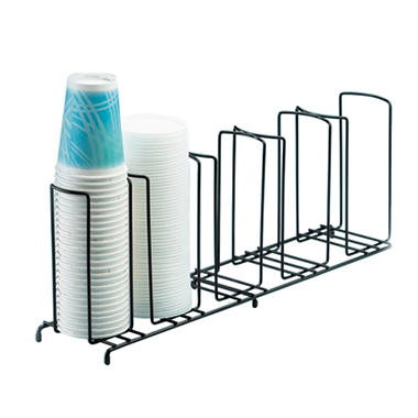 5-Slot Wire Cup/Lid Organizer