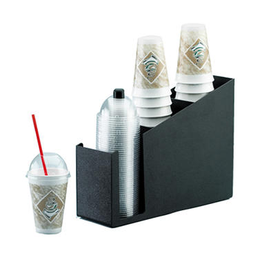 Black Cup/Lid Organizer