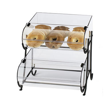 Small Bakery Display Case - Two Tiered