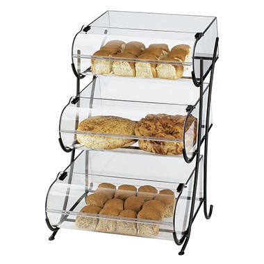 Bakery Display Case - Three Tiered