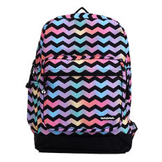 Yak Pak Vanderbilt Backpack in Chevron Print