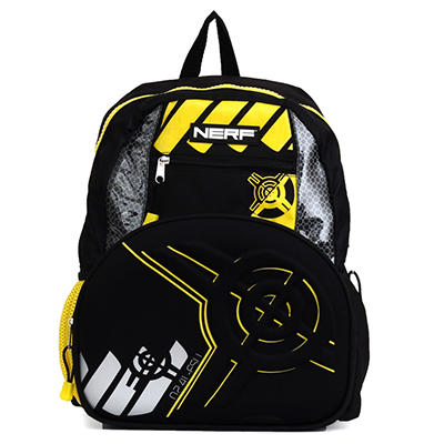 Nerf Backpack with Molded Neoprene in Black and Yellow
