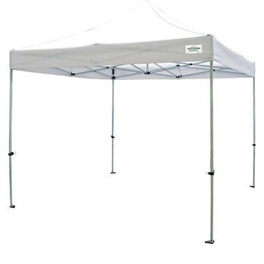 Caravan® Canopy Sports TitanShade Kit 10'x10' - White Instant Canopy