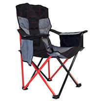 Elite Quad Chair by Caravan Sports - Red