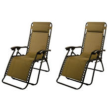 Infinity Zero Gravity Chair 2 pk. (Assorted Colors)