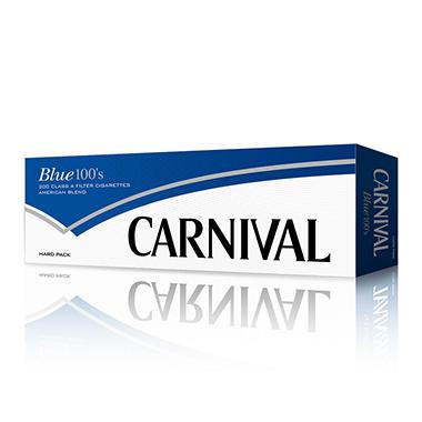 Carnival Blue 100s Box - 200 ct.