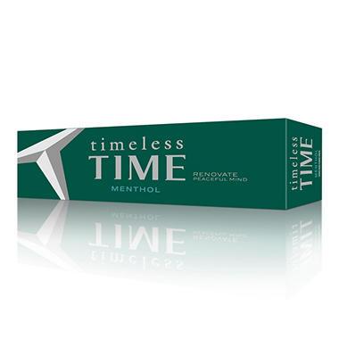 Timeless Time Menthol Box - 200 ct.