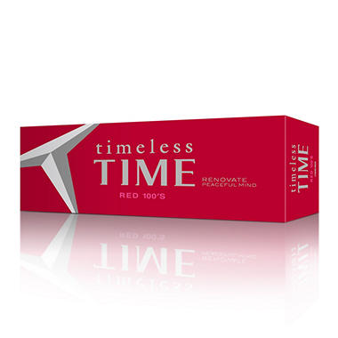 Timeless Time Red 100s Box - 200 ct.