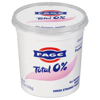 FAGE Total 0% Plain Greek Strained Yogurt 35.3 oz.