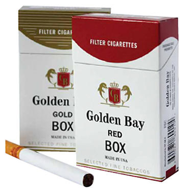 Golden Bay Gold 100s Box - 200 ct.