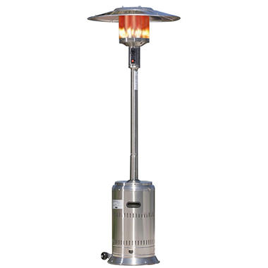 Fire Sense 46,000 BTU Commercial Stainless Steel Patio Heater