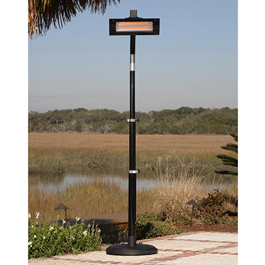 Black Steel Patio Heater